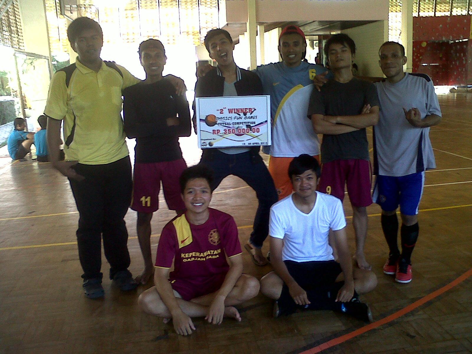 Tim Dadakan Sabet Juara 2 Futsal