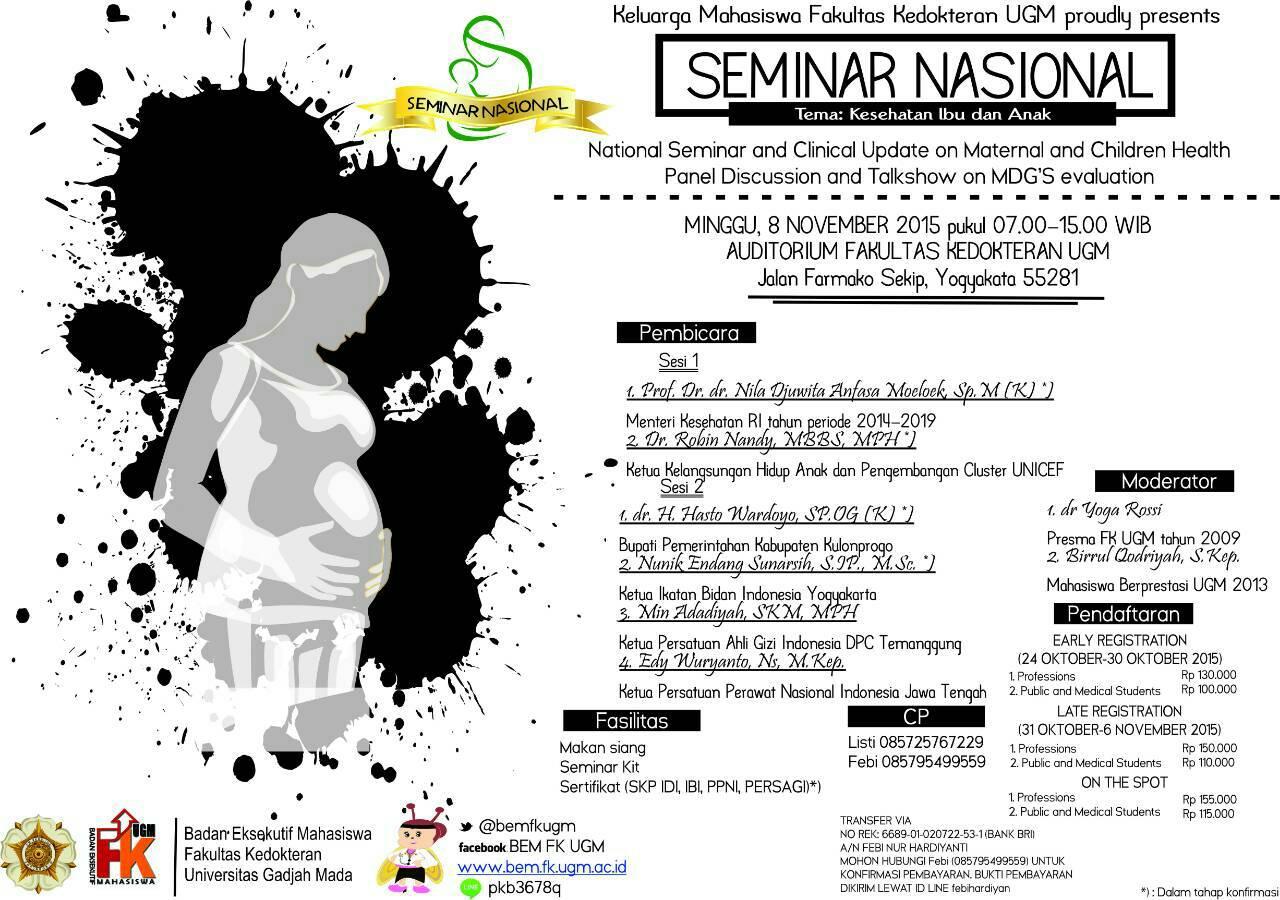 Seminar Nasional – Kesehatan Ibu dan Anak
